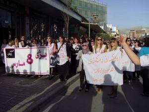 WADI anti-FGC protest in Iraqi Kurdistan