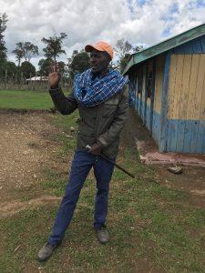 Leshao Ole Kirorei, community leader.